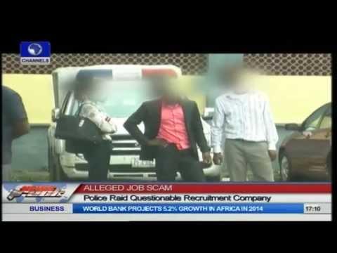 Job Scam: Police Raid Fake Recruiting Agency In Lagos