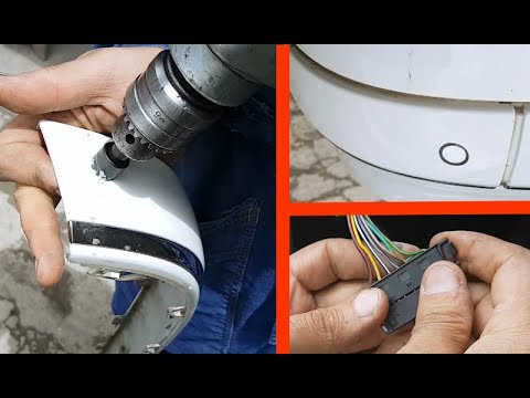 Parking Sensor installation by own hands / How to install Parking Sensor on the Mercedes W211, W219