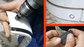 Parking Sensor installation by own hands / How to install Parking Sensor on the Mercedes W211