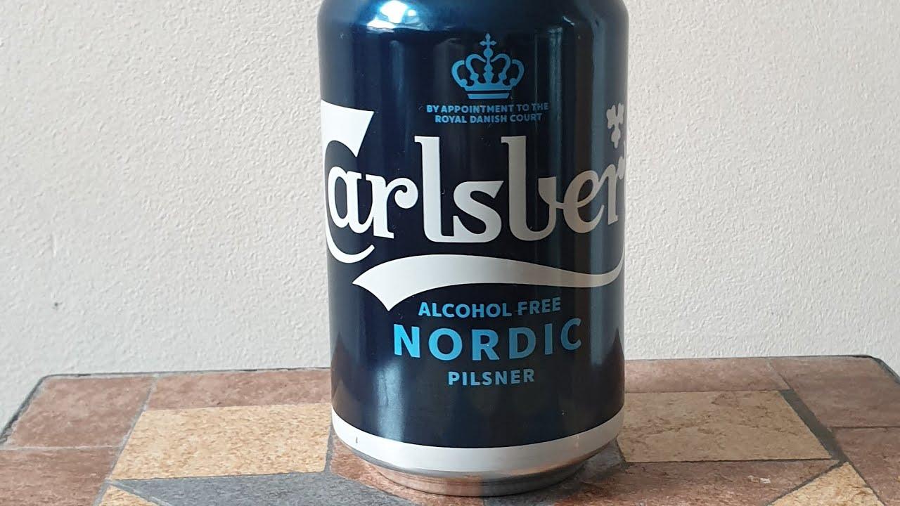Beer Dad #1181 Carlsberg Alcohol Free Nordic Pilsner - YouTube