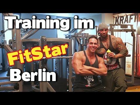 Muskelpower im Fit Star Berlin - Schultertraining