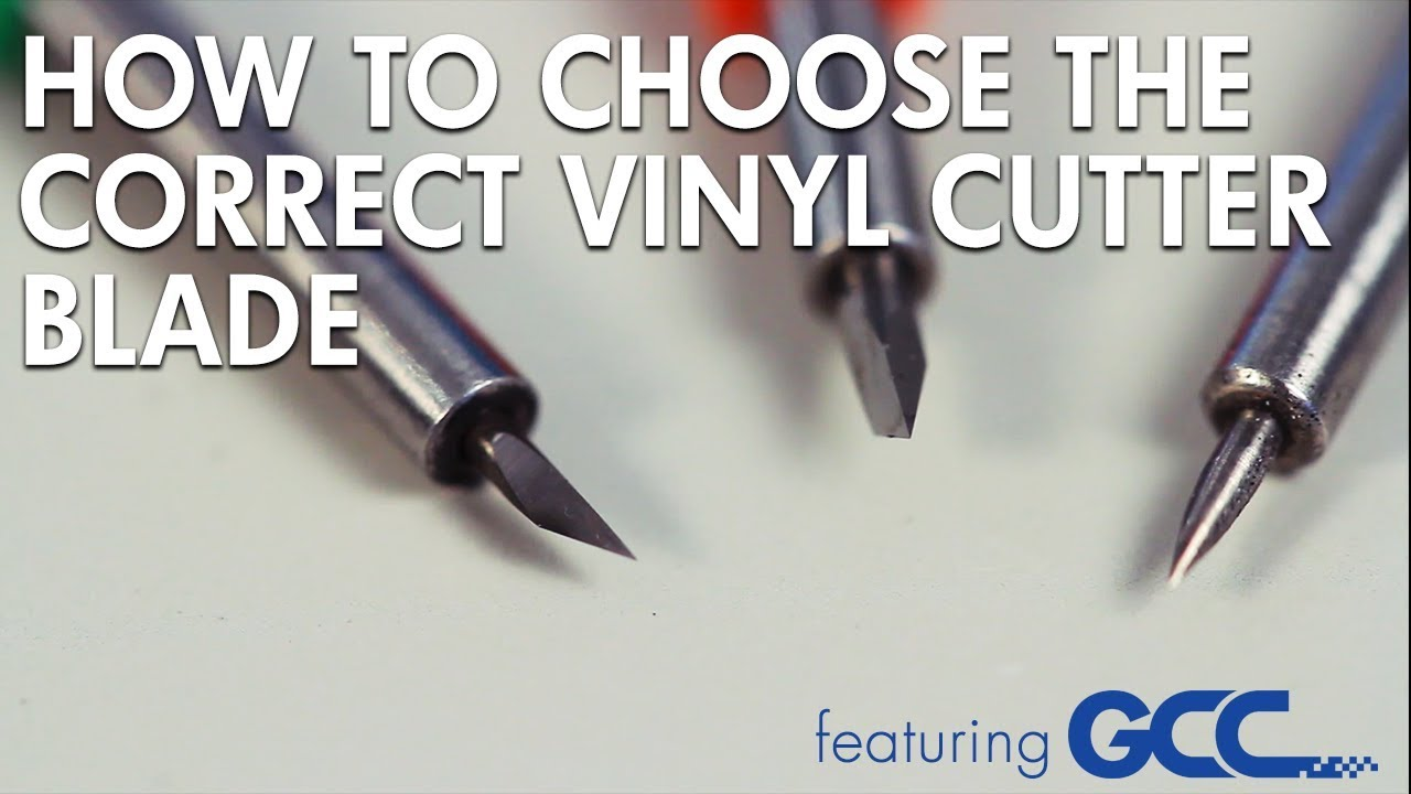 how to choose the best vinyl cutter blade for your crafts and heat transfer projects projects - Best Vinyl Cutter
