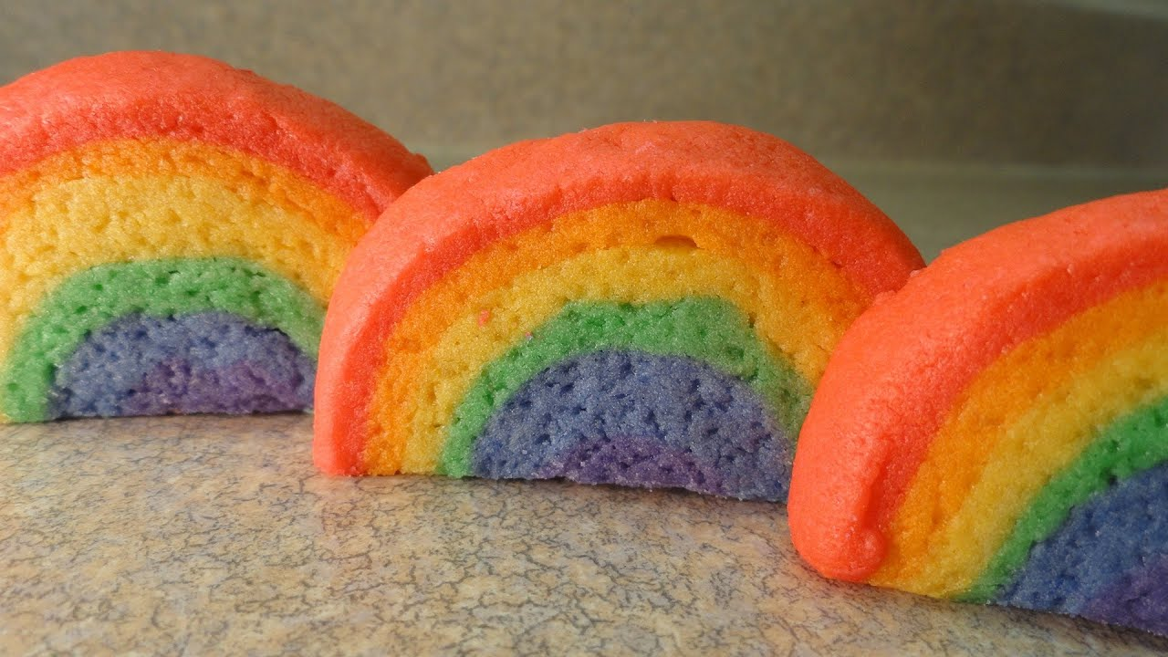 How To Make Rainbow Cookies -with yoyomax12 - YouTube