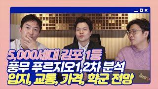 김포의 대장아파트 풍무푸르지오 투자와 입주를 해볼까? …