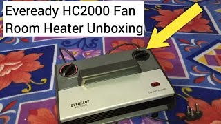 Eveready HC2000 Fan Room Heater Unboxing & Review | Best Room Heater Under 2000? | Hindi