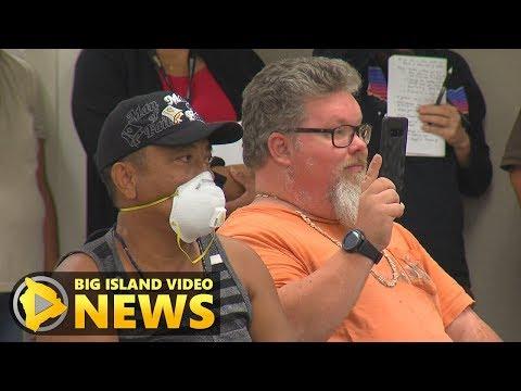 Hawaii Eruption: Ka'u Air Quality Meeting In Pahala (May 30, 2018)