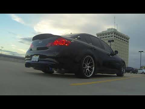 Repeat Fast Intentions Catback and Test Pipes G37 (Cold