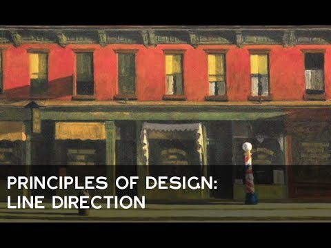 Principles Of Design Line : Principles of design: line direction youtube