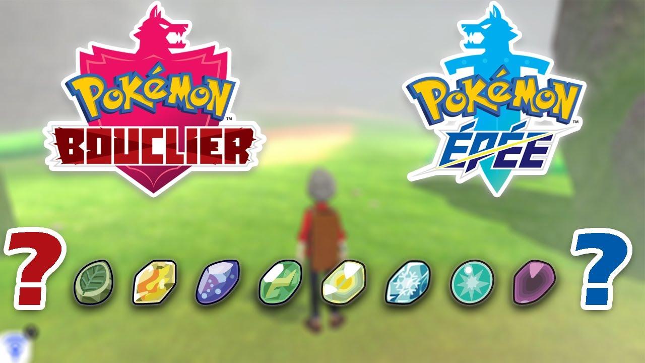 OÙ TROUVER LES PIERRES D'ÉVOLUTION - Pokémon Bouclier ...