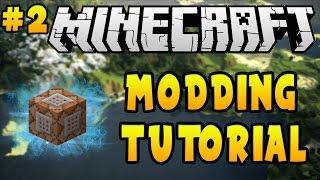 Minecraft 1.11.2: Modding Tutorial - Mod Fundamentals (#2)