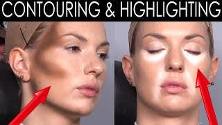 Make-Up Atelier Paris: Cours de maquillage Contouring & Highlighting [HD] Thumbnail