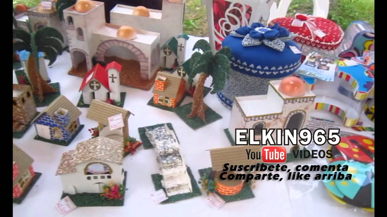 Manualidades en carton y madera para pesebre youtube - Manualidades en carton ...