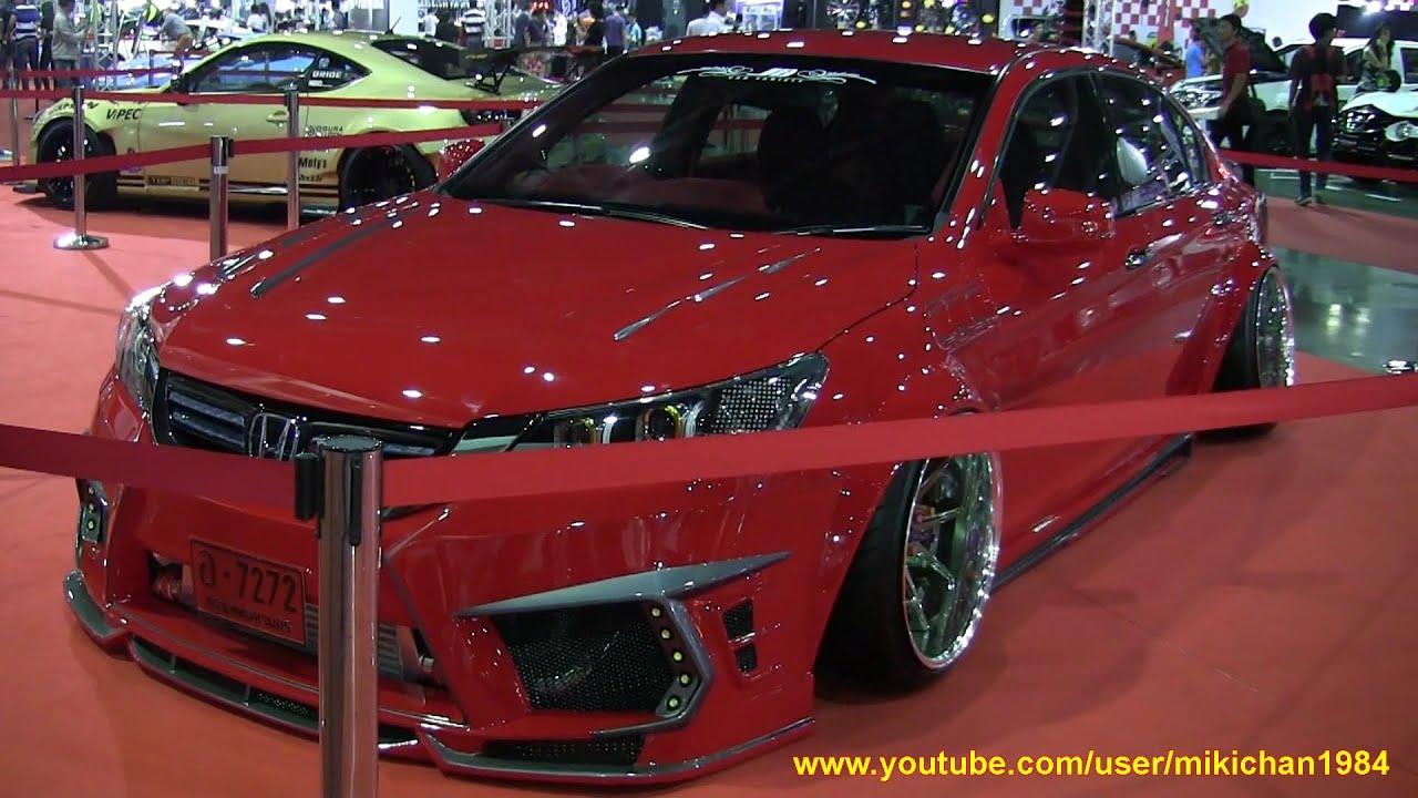 Custom Honda Accord Vip Car バンコクオートサロン2015 Youtube