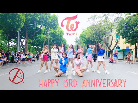 [KPOP IN PUBLIC CHALLENGE] TWICE (트와이스) 3rd ANNIVERSARY SPECIAL DANCE COVER by C.A.C's Trainee 🇻🇳