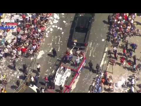 LIVE: US Women's Soccer Parade in New York City