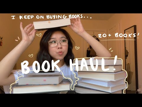 📚 my huge book haul! (20+ books!)📚