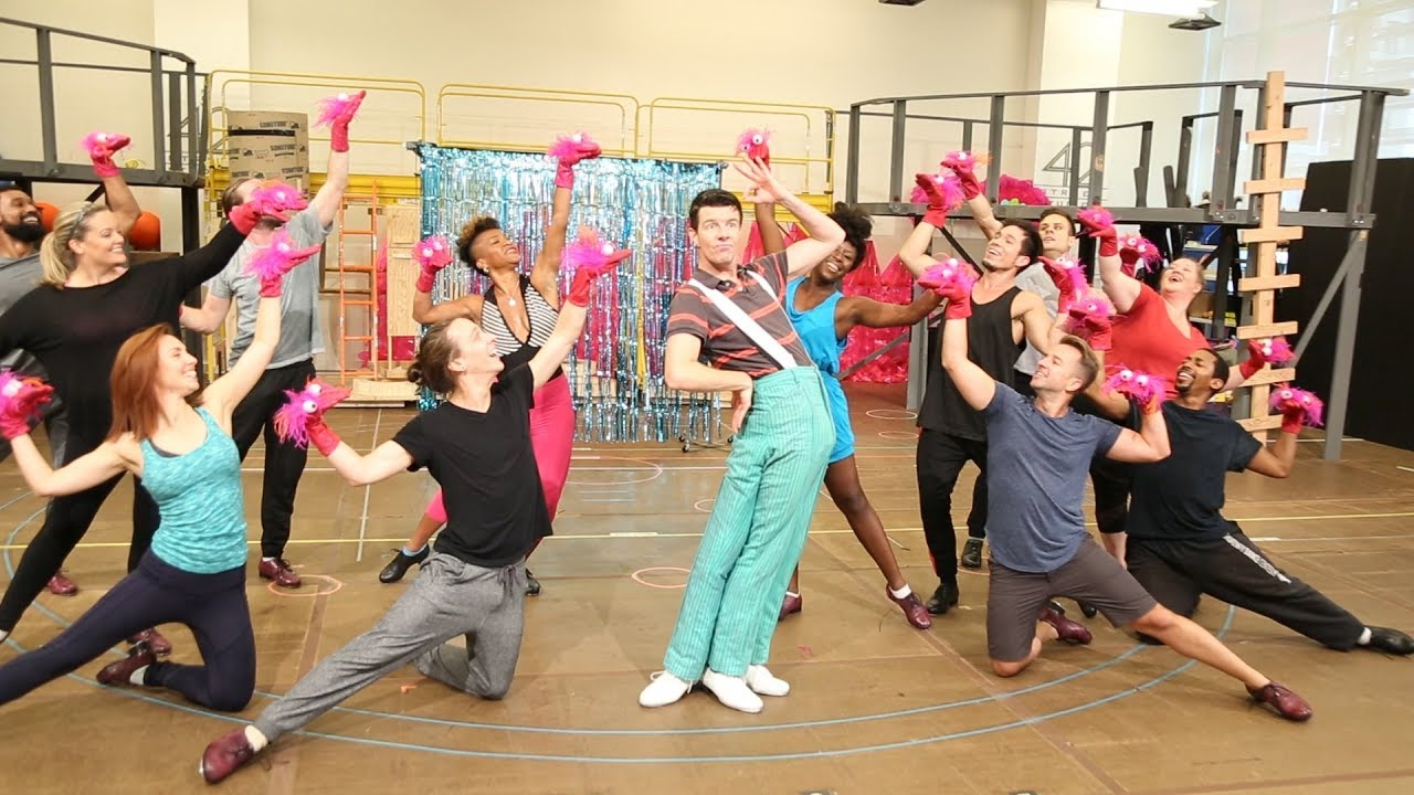 Watch Splashy Performance Clips from the SPONGEBOB SQUAREPANTS Rehearsal Room