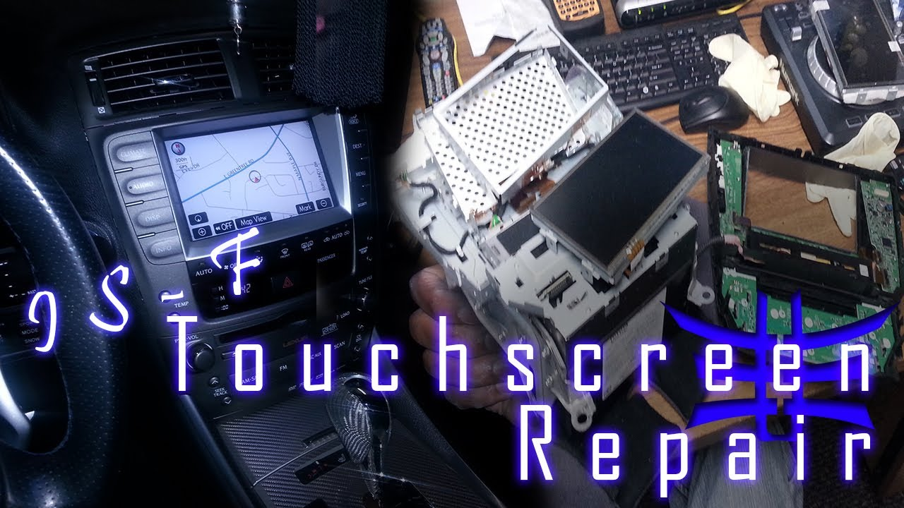 Lexus TOUCH SCREEN REPLACEMENT only