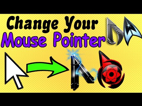 How To Change Mouse Cursor On Windows 7/8/10 | How To Change Mouse Pointer |  Animated Mouse Pointer