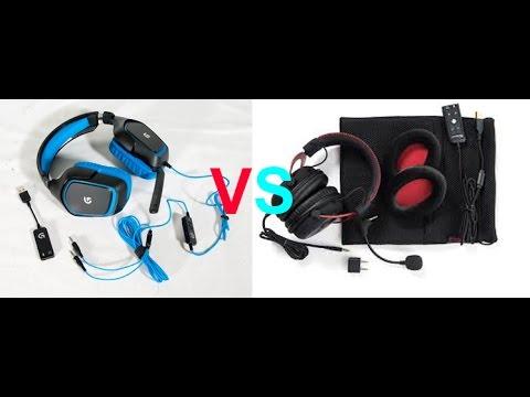 9e14867714c Headset review Logitech g430 vs Hyperx cloud 2 (and blue snowball ...