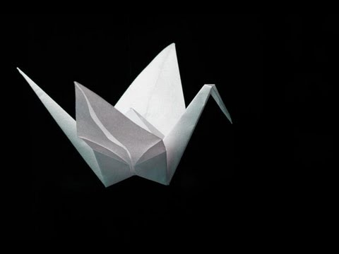 Papercraft Origami Crane - Easy-to-follow tutorial