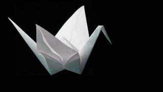 Fold An Origami Crane, Tutorial -- Pliega Una Grulla
