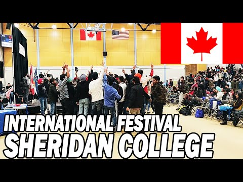 INTERNATIONAL STUDENT WELCOME FESTIVAL SHERIDAN COLLEGE || Luvraj Tyagi || Canada