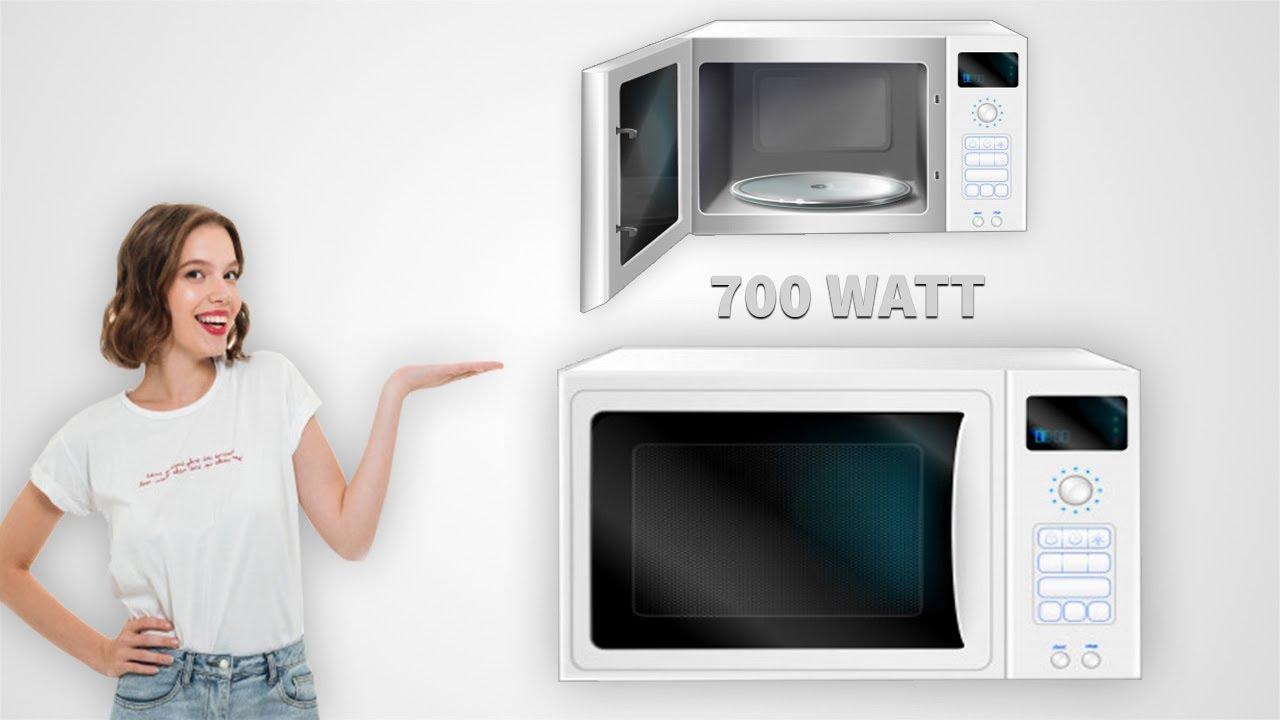 powerful is a 700 watt microwave