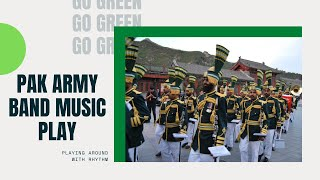 Pakistan Army Music Band Performing in Moscow, Rus