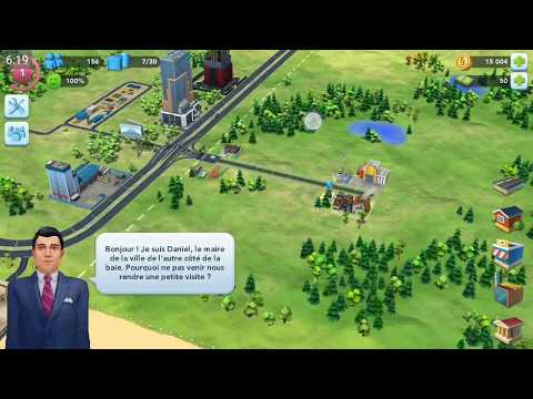 Let's play (fr) SimCity BuildIt #1 : Construisons la ville de nos rêves !