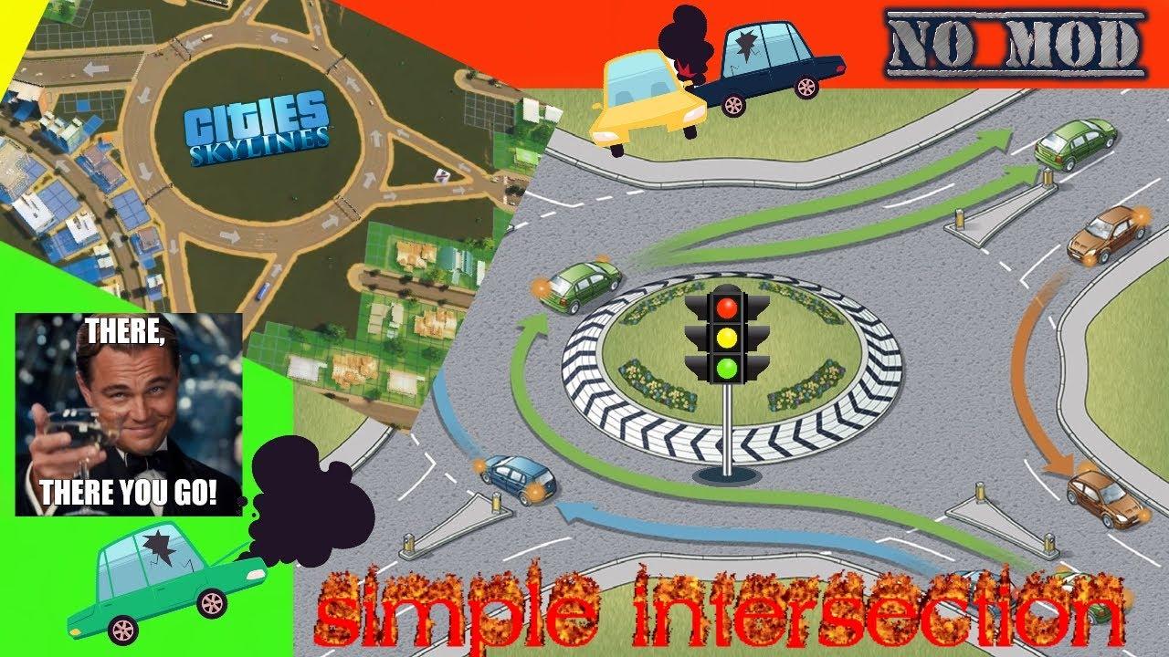 how to build interchanges cities skylines
