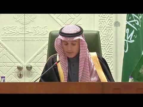 Turkish FM Mevlut Cavusoglu in Saudi Arabia 2