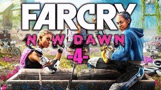 Far Cry New Dawn PL #4 - WALKI W OBOZIE! - Polski Gameplay - 4K