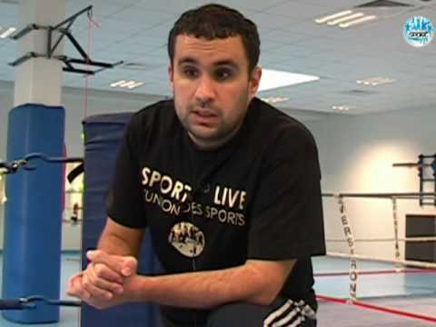 Interview du Coach Halime CSL boxe Aulnay pour sportandlive