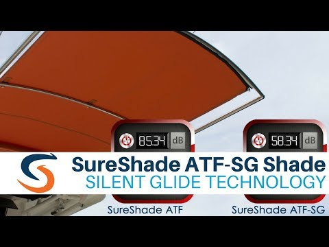 SureShade ATF-SGT Boat Shade with Silent Glide Technology -