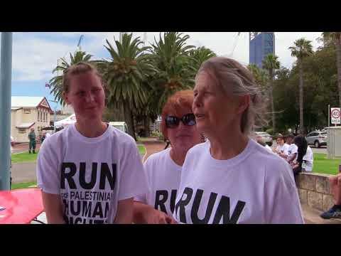 Roots Tv Coverage  of Run 4 Palestine 2017.Perth