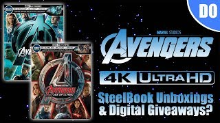 Avengers & Age of Ultron 4K Blu-ray SteelBook Unboxings | Best Buy Exclusives