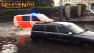 Unwetter (9.7.2014): Landunter in Oldenburg und Ganderkesee