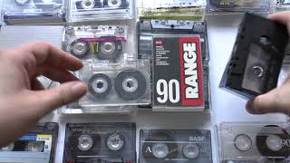 Магнитофонные кассеты 90 х годов