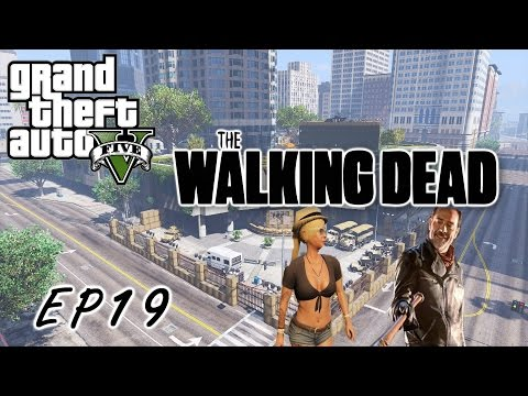 GTA5 THE WALKING DEAD-陰屍路 生存日記Day19 拯救崔西