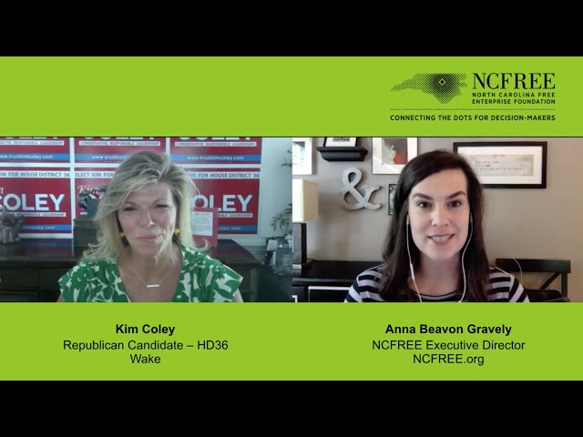 NCFREE Candidate Interview – Kim Coley, HD-36