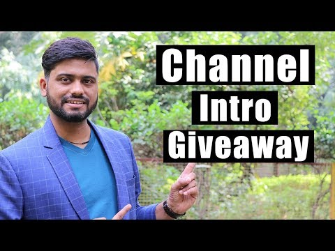Channel Intro Giveaway By Mahatmaji Technical