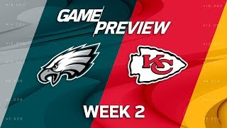 Philadelphia Eagles vs. Kansas City Chiefs | Week 2 Game Preview | Move the Sticks