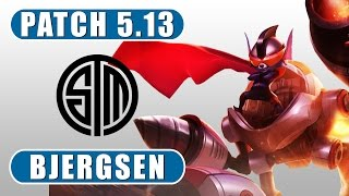 TSM Bjergsen - Rumble vs Diana - Mid - July 11th, 2015 - Season 5 - Patch 5.13