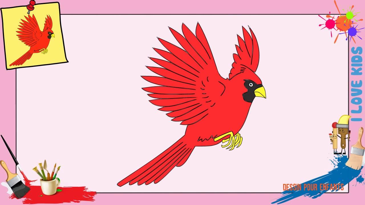 Dessin oiseau comment dessiner un oiseau facilement pour enfants youtube - Comment dessiner un enfant ...