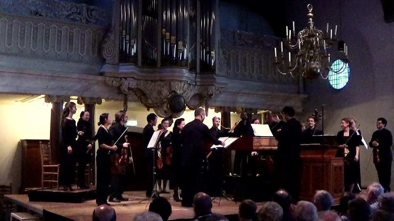 NEW COLLEGIUM | Claudio Ribeiro: Handel, HWV 350 - live at the Utrecht Early Music Festival 2015