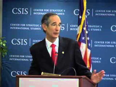 A Presentation by His Excellency Álvaro Colom Caballeros, President of Guatemala