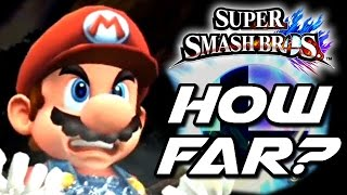 Super Smash Bros WHICH FINAL SMASH Launches the Most Distance? (Wii U)