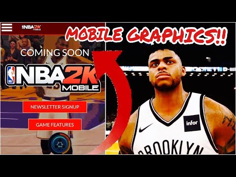 NBA 2K MOBILE WORLDWIDE RELEASE CONFIRMED By 2K!! Coming SOON On IOS/ANDROID @NBA2KMobile