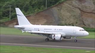 The Ghana President visit to St. Vincent @ Argyle International Airport